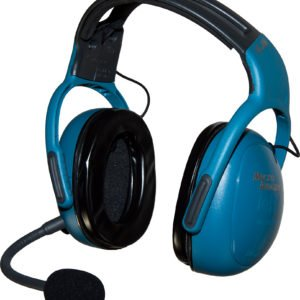 MG001AA Microavionics ANR GA headset Blue Ear Defender