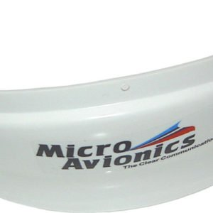MM024 MicroAvionics Air Dam HelmetVisor Wind Reflector