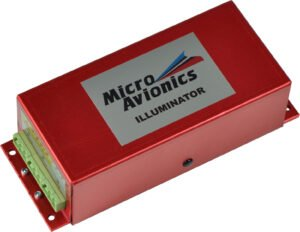 MM031 Microavionics Single Head High Power Strobe